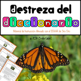 Destreza del Diccionario ~ Material de instrucción y Pract