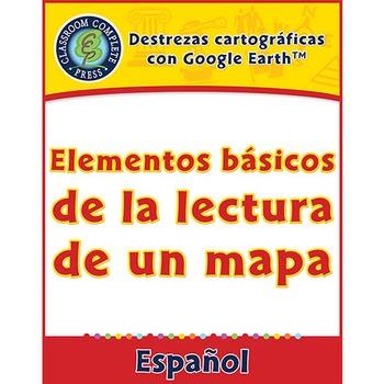 Destrezas cartográficas: Elementos básicos de la lectura de un mapa Gr. 3-5