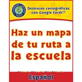 Destrezas cartográficas: Haz un mapa de tu ruta a la escuela Gr. PK-2