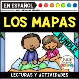 Destrezas para leer mapas/Map Skills Spanish Bundle