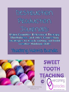 Destruction Production Journal - Tracking Habits: Trauma Informed Activities