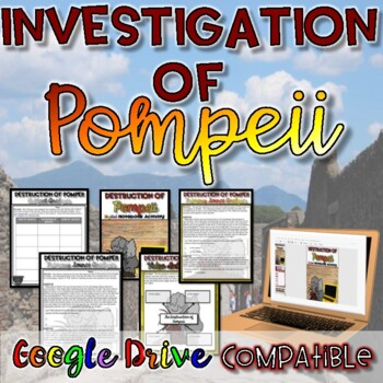 Destruction of Pompeii Digital Activity {Google Drive}