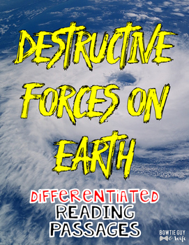 Destructive Forces on Earth: Earthquakes, volcanoes, hurricanes, tsunamis & more