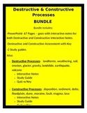 Destructive and Constructive Processes BUNDLE