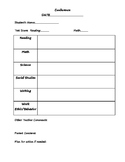 Detailed Conference Sheet