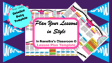 Detailed Daisy Lesson Plan Template from In Naneitra's Classroom