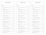 Detailed Essay Editing checklist