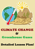 Climate Change, Global Warming AND Greenhouse Gases- DETAILED LESSON PLAN!