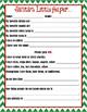 Detailed Secret Santa Questionnaire
