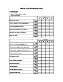 Detailed Social Skills Progress Report
