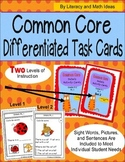 Details Activity Cards Grades K-1 Common Core RL.1