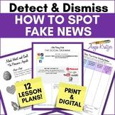 Detect & Dismiss: How to Spot Fake News {5 Lesson Plans}