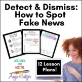 Detect & Dismiss: How to Spot Fake News {Distance Learning}
