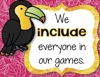 Detect the Respect: Rainforest-Themed Character Education Bulletin Board Kit