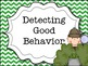 Detecting Good Behavior Clip Chart File 2