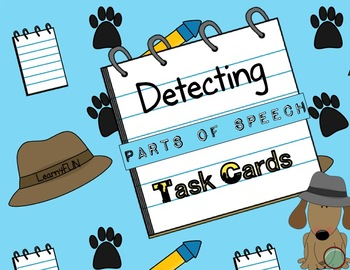 Detecting Parts of Speech Task Cards