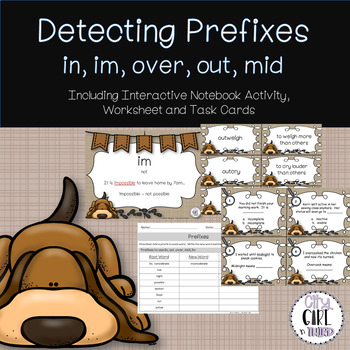 Detecting Prefixes II - mid, pre, over, out