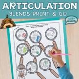 Detecting Articulation l-blends, s-blends, & r-blends No PREP