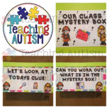 Classroom Detective Mystery Box Activity