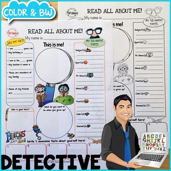 Detective All About Me Poster