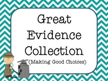 Detective Behavior Clip Chart