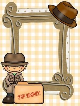 Detective Binder Covers-Editable