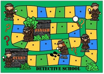Detective Blank Board Game (EDITABLE)