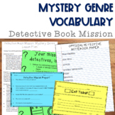 Detective Book Mission: Mystery Genre Vocabulary