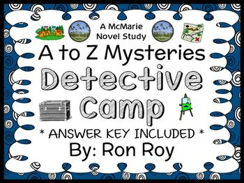 Detective Camp : A to Z Mysteries (Ron Roy) Novel Study /