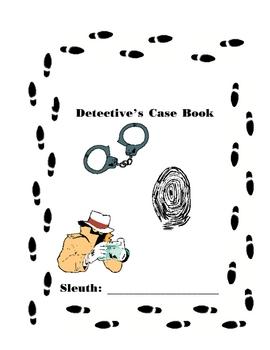 Detective Case Book Cover