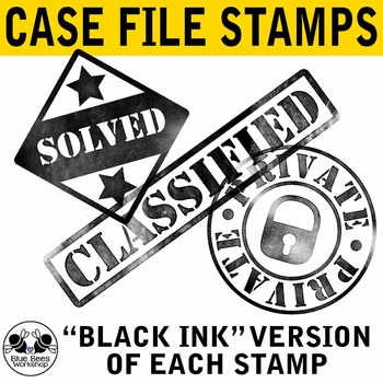 Case Solved Stamp