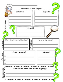 image relating to Printable Story Map Graphic Organizer named Detective Situation Posting-Tale Map