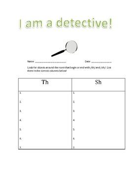 Detective Center/Literacy Center