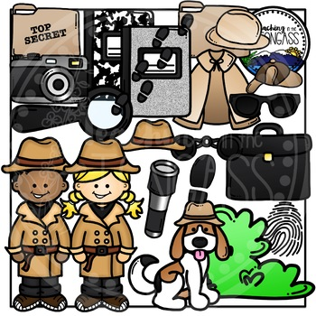 detective clipart by teaching in the tongass teachers pay teachers rh teacherspayteachers com free clipart for teachers pay teachers making clipart for teachers pay teachers
