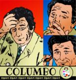 Detective Columbo Illustrations