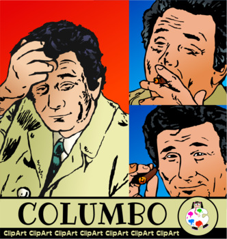 Detective Columbo Illustrations