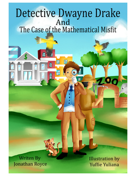 Detective Dwayne Drake and The Case of The Mathematical Misfit Coloring Book