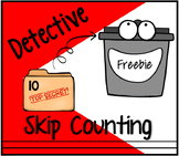 Detective Feed Me Skip Counting Math Center