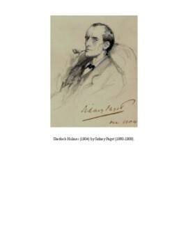 """Detective Fiction"": Six Sherlock Holmes Short Stories by Sir Arthur Conan Doyle"