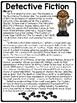 Detective Fiction overview Reading Comprehension Worksheet