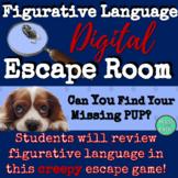 Detective Figurative Language Escape Room! Great for Test Prep!