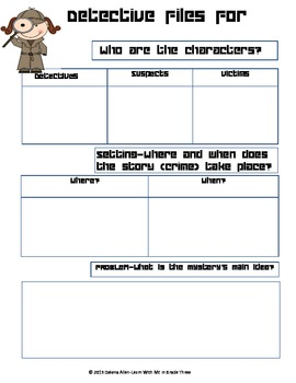 Detective File-Story Map for the Mystery Reader