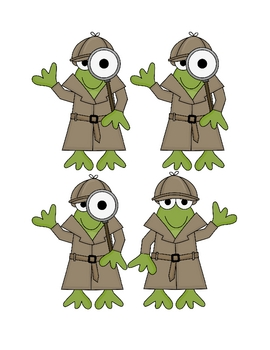 Detective Froggies: An engaging rhyming center