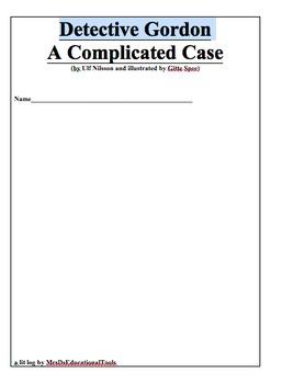 Detective Gordon A Complicated Case Lit Log