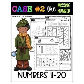 Detective I Spy Numbers 11 - 20