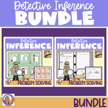 Detective Inference Bundle! Activities and worksheets