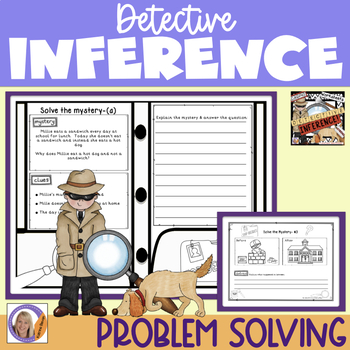 Detective Inference Activities Worksheets By Katrina Bevan Tpt
