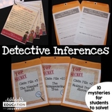Detective Inferences - Teaching Drawing Conclusions and Ma