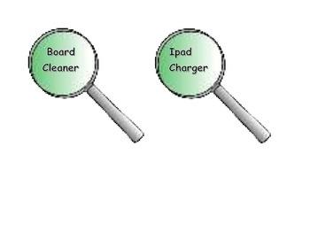 Detective Job Chart