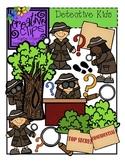 Detective Kids {Creative Clips Digital Clipart}
